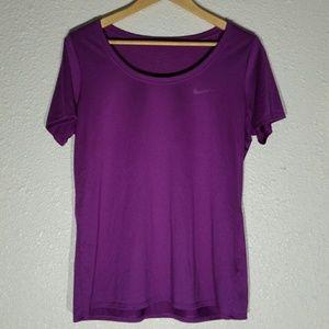 Nike Dri-Fit Purple T-Shirt